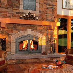 Chimney, Prefabricated Fireplace or Woodstove